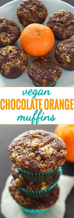 These easy muffins pack all the flavour of a traditional chocolate orange, in vegan form! At 200 calories a pop, you can definitely indulge a bit this holiday season!
