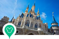 An interactive map of Walt Disney World Resort, including restaurants, rides, activities, and hotels at the four theme parks.