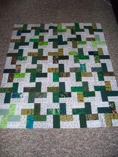 easy quilt.