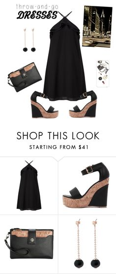 """""""Own the Night"""" by parnett ❤ liked on Polyvore featuring Miss Selfridge, Giani Bernini, Meriko, Casetify and Avenue"""
