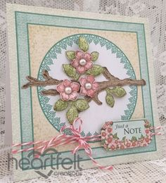 Heartfelt Creations | Pink Blossom Branch