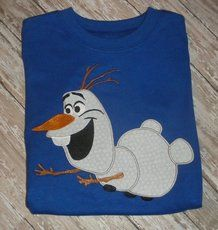 OLAF APPLIQUE