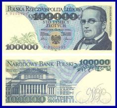 1974 series Polish banknote, featuring Stanisław Moniuszko and the coat of arms of Poland on the obverse side, and the Warsaw Grand Theatre on the reverse side. Bank Account Balance, Money Template, Win For Life, Money Worksheets, Money Notes, Euro Coins, Show Me The Money, My Kind Of Town, Old Movies