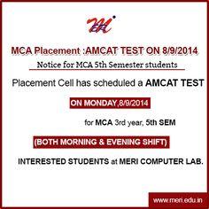 MCA Placement :AMCAT TEST ON 8/9/2014 http://wp.me/p4iyfw-1rc