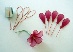 diy hacks info are readily available on our site. - diy hacks info are readily available on our site. Nylon Flowers, Wire Flowers, Paper Flowers Diy, Handmade Flowers, Flower Crafts, Cloth Flowers, Nail Polish Flowers, Nail Polish Crafts, Wire Crafts
