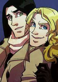 Louis and Lestat by Garama
