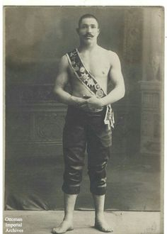 Ottoman wrestler Kara Ahmed (1870-1902).