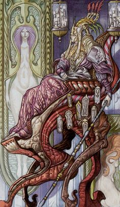 The Hierophant - Universal Fantasy Tarot