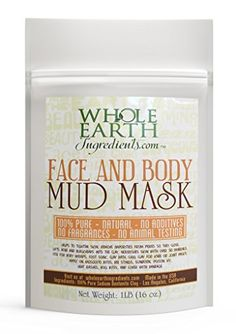Bentonite Clay Mud Mask Pure Natural Beautiful Facial Treatment Skin Tightening Deep Pore Cleansing Anti Aging Fights Acne Top of Organic Beauty Products * Read more  at the image link.