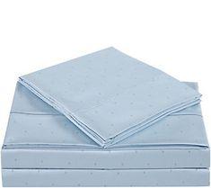 Charisma 310TC Classic Dot Cotton California King Sheet Set