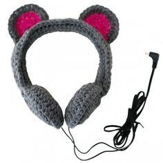 mouse headphones!