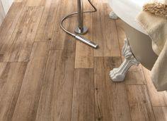 Flooring, Adorable Interior Design Wood Floors Design With Charming Contemporary Shower Head Classy Bathtub Leg Wood Look Tiles Flooring Ideas Wood Tiles Decorating In Bathrooms Inspirations: Interior Design Wood Floors Tips