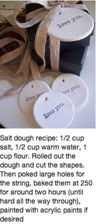 Salt clay