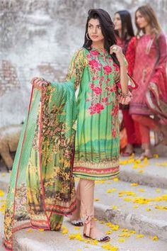 Bonanza Satrangi Colors of Eid Collection are unstitched Eid dresses for woman and men, we are first sharing woman embroidered shalwar kameez for the Eid. Pakistani Casual Wear, Pakistani Dress Design, Pakistani Outfits, Eid Collection, Designer Collection, Eid Dresses, Luxury Dress, Shalwar Kameez, New Dress