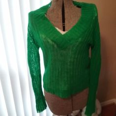 WOMEN GREEN  LONG SLEEVE SHIRT & WHITE SLEEVELESS SHIRT ONESTEP UP BRAND SIZE XL #OneStepUp #ScoopNeck