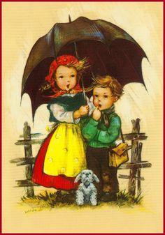 Es regnet  (Hilde)