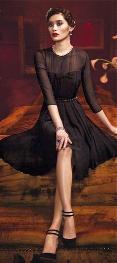 Max Mara -- little black cocktail dress