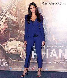 Katrina Kaif in Prabal Gurung - Phantom promotions Kabir Khan, Androgynous Look, Saif Ali Khan, Prabal Gurung, Katrina Kaif, Bollywood Actress, Indian Actresses, Indian Fashion, Families