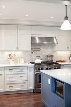 Silestone Lagoon counters throughout; Kitchen Dining Living, Kitchen Redo, New Kitchen, Kitchen Remodel, Kitchen Design, Kitchen Ideas, Kitchen Makeovers, Kitchen Things, Kitchen Inspiration