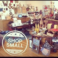 """we're giving you 15% off your entire purchase on small business saturday! say """"little shop with a big heart"""" to save!"""