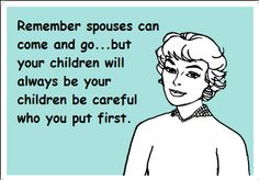 Maybe this is a good reminder of why our national divorce rate is so high. Do I love my children with all of my heart? But does my husband come first? Mom Quotes, Quotes For Kids, Quotes To Live By, Funny Quotes, Life Quotes, Quotes Children, Spouse Quotes, Real Quotes, People Quotes