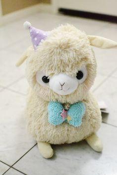 Baby alpaca plushie!!