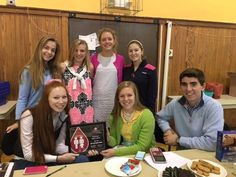 Congratulations to Oakwood High School - a Red Cord Honor School for 2015-2016! Student Council is the student sponsor group & accepted the award at Thursday's blood drive. (Seated L-R) Bella Fiore, Caroline Goeller, Brett Wedding (standing) Sarah Rosenbaum, Izzy Armitage, Agatha Shafer, Lainey Teeters.
