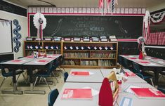 ALL kinds of classroom themed ideas and products. schoolgirlstyle