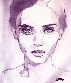 Portrait 30  #illustration #painting #drawing #pen #イラスト #sketch #art #pen #instadraw #artwork #絵 #fashionillustration #ファッションイラスト #illust #girl #fashionsketch #artstagram #sketchbook #落書き #doodle