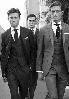 Hackett London:  I shop here, and at Gieves & Hawke.  http://www.annabelchaffer.com/categories/Gentlemen/