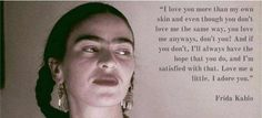 Frida #coolquote #love