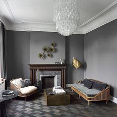 """397 Synes godt om, 3 kommentarer – Københavns Møbelsnedkeri (@kbhsnedkeri) på Instagram: """"The danes know how to do Grey. In the next issue of RUM international, our KBH Dedar sofa and chair…"""""""
