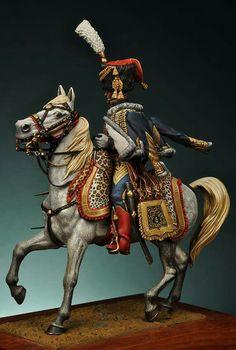Ufficiale degli ussari francese