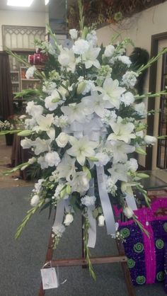 Sympathy easel - Made by our expert designers at Crocus Flowers & Gifts