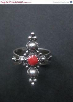 ON SALE Vintage sterling silver ring real by AntiquesNejadStyle, $44.80