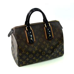 Louis Vuitton Monogram Mirage Noir Limited Edition Speedy 30cm