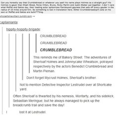 This. Is just. Oh the giggles that followed after reading this. <3 >>> I also lost it at Lestrudel. ^_^