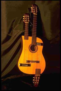 The Guitarpa is a unique instrument in the world. It´s design comes from the classical guitar.