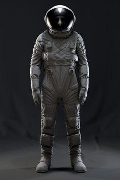 An exercise in design exploration with Marvelous Designer. Black Holes And Revelations, Space Troopers, Astronaut Illustration, Astronaut Suit, Combat Suit, Hazmat Suit, Sports Graphic Design, Futuristic Armour, Space Fashion