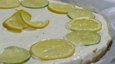 Sikke Sumari's lime-lemon cheesecake, no gelatine and so good