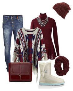 finest by mias-fashion101 on Polyvore featuring polyvore, fashion, style, Rodarte, Chicwish, Object Collectors Item, UGG Australia, Jérôme Dreyfuss, Aerie, Inverni, women's clothing, women's fashion, women, female, woman, misses and juniors