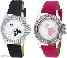 Watches Stylish Women's Watch (Set Of 2)  Material: Synthetic Leather Size: Free Size Description: It Has 2 Pieces Of Watches Country of Origin: India Sizes Available: Free Size *Proof of Safe Delivery! Click to know on Safety Standards of Delivery Partners- https://ltl.sh/y_nZrAV3  Catalog Rating: ★4 (4322)  Catalog Name: Free Gift Clalssy Ladies Watches Combo Vol 1 CatalogID_77323 C72-SC1087 Code: 722-681565-