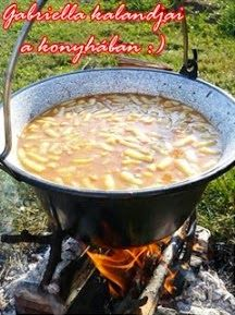 Gabriella kalandjai a konyhában :): Palóc leves -akár bográcsban készítve Pesto