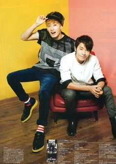 CHRISTIAN DADA Japanese Magazine - Eunhyuk & Donghae