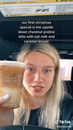 Secret Starbucks Drinks, Starbucks Recipes, Flintstone Vitamins, Chestnut Praline Latte, Starbuck Drinks, Little Mix Girls, Teen Dictionary, Fruit Smoothie Recipes, Teen Girl Gifts