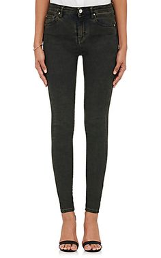 1401dbbd2fb9 We Adore  The Elle Cotton High-Rise Skinny Jeans from IRO at Barneys New