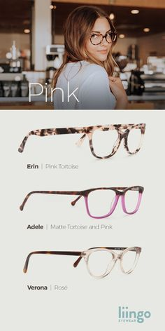 Designed for women with wonderful pink patterns and hues, these frames are quality and class. Cool Glasses, New Glasses, Glasses Frames, Fake Glasses, Womens Fashion Online, Latest Fashion For Women, Fashion Eye Glasses, Pink Patterns, Sunglasses Women