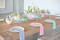 Spring Brunch Table Setting Vases Ideas For 2019