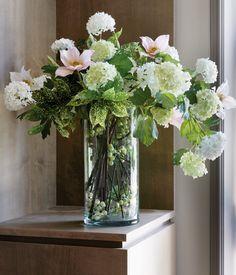 50 mejores im genes de decoraci n de salas con jarrones - Arreglos florales artificiales para casa ...