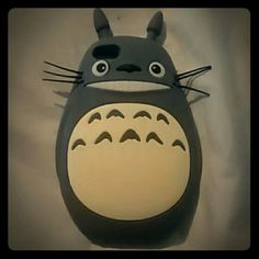 Totoro phone case NWOT Grey totoro iPhone 5/5s silocone phone case Perfect condition! Accessories Phone Cases